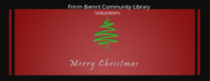 FBCL Christmas Card #### for Volunteers! #####