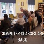 Computer classes at FBCL