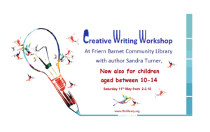 Creative Writing workshop -new Poster for FBCLibrary.org - 2019