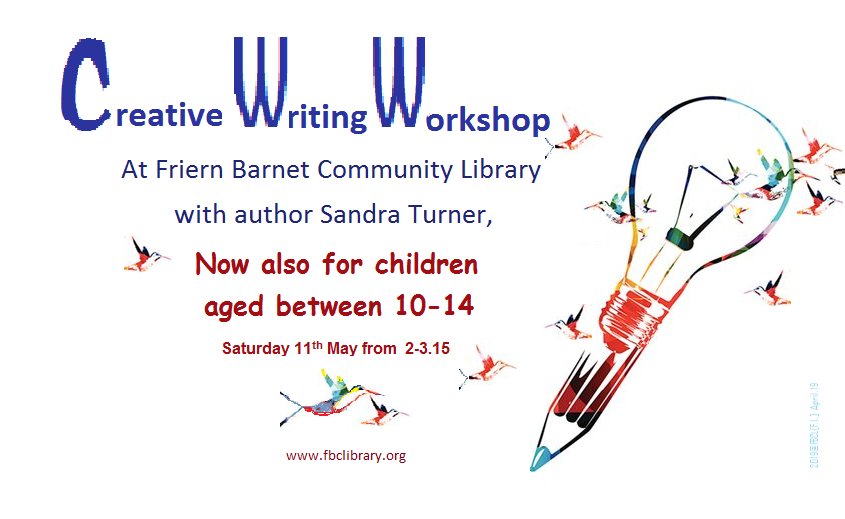 Creative Writing Workshops at FBCL – Now also for all older children aged between 10-14