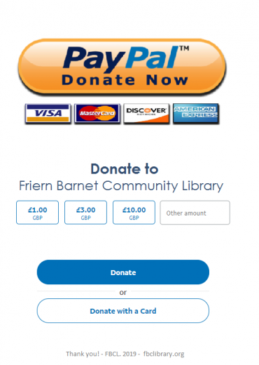 Paypal banner PLUs icon for fbclibrary.org
