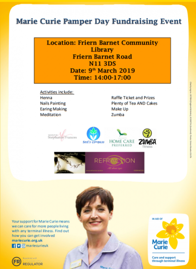 fbcl fundrising marie Curie Poster Pic..